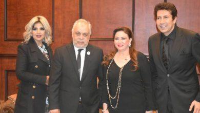 صورة تكريم عبدالسيد والحلو وشاهين ورمزي في ختام ملتقى شباب أكاديمية الفنون