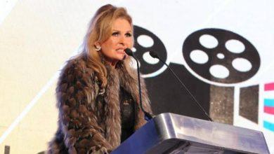 صورة يسرا ..  ضيفة شرف حفل ختام مهرجان أفلام الهجرة الدولي