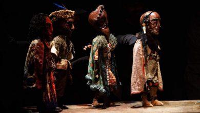 صورة لير شكسبير بالعرائس على مسرح المبدعين الشبان بتونس