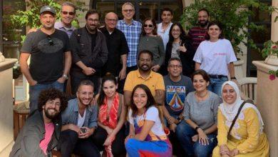 """صورة تامر محسن في """"غرفة المؤلف"""" الهوليوودية للاحتكاك بأهم خبراء صناعة الدراما التليفزيونية"""