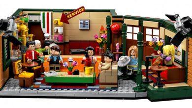 """صورة مسلسل """"فرندز"""" تحول إلى """"LEGO"""""""