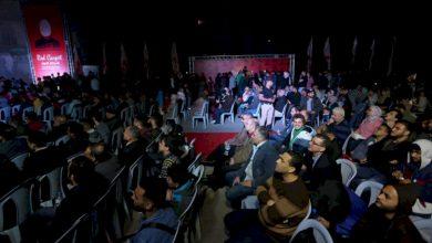 صورة أول عرض سينما في غزة بعد غياب 30 عاما