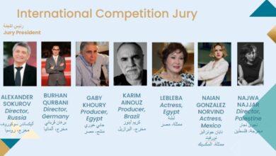 صورة سوكوروف رئيسا للجنة تحكيم المسابقة الدولية بمهرجان القاهرة السينمائي