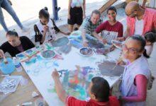 """صورة """"ذوي الهمم """"ينضمون لفناني العالم وعرض لوحاتهم المشتركة في ختام """"أرتا مرسانا"""""""